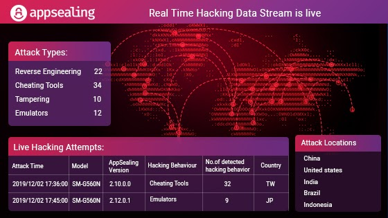AppSealing's Real-Time Hacking Data Stream For Android App Is Live